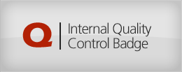 Internal Quality Control Badge